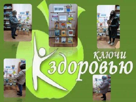 8 сентября в Архангельской сельской библиотеке состоялась ярмарка полезной информации «Ключи к здоровью». Формирование сознательной установки на здоровый образ жизни – такова была цель мероприятия.